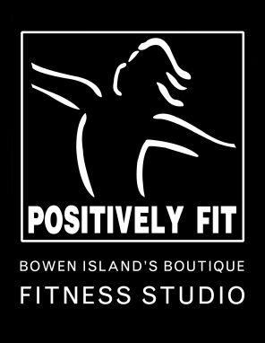 PositivelyFit bowen islands boutique fitness studio Logo